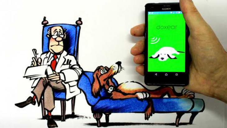 Een app om je honden aan harde geluiden te laten wennen