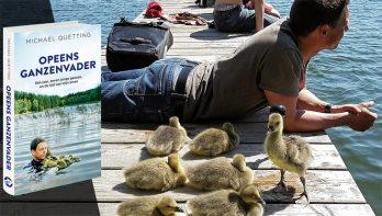 Maak kans op het boek: Opeens ganzenvader van Michael Quetting