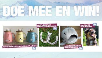 Hart voor Dieren doe mee en win januarinummer 2019