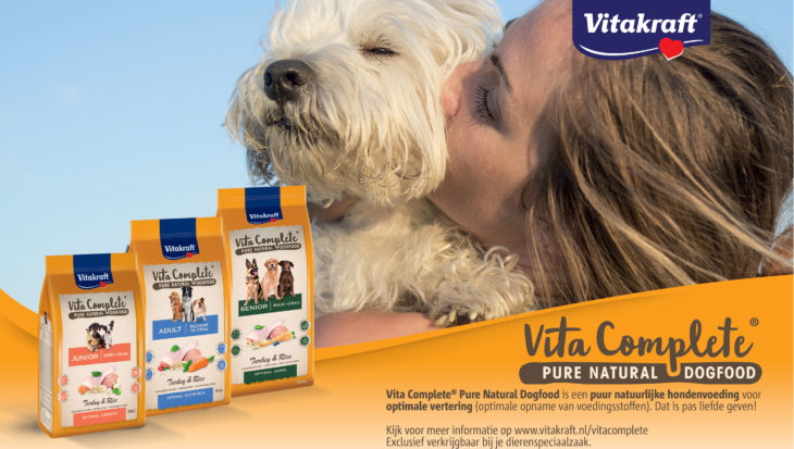 Liefde ❤ is…… Vita Complete® Pure Natural Dogfood