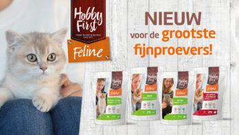 HobbyFirst Feline premium, ook voor de meest kieskeurige fijnproevers!