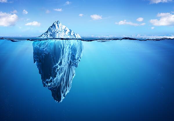 ijsberg titanic